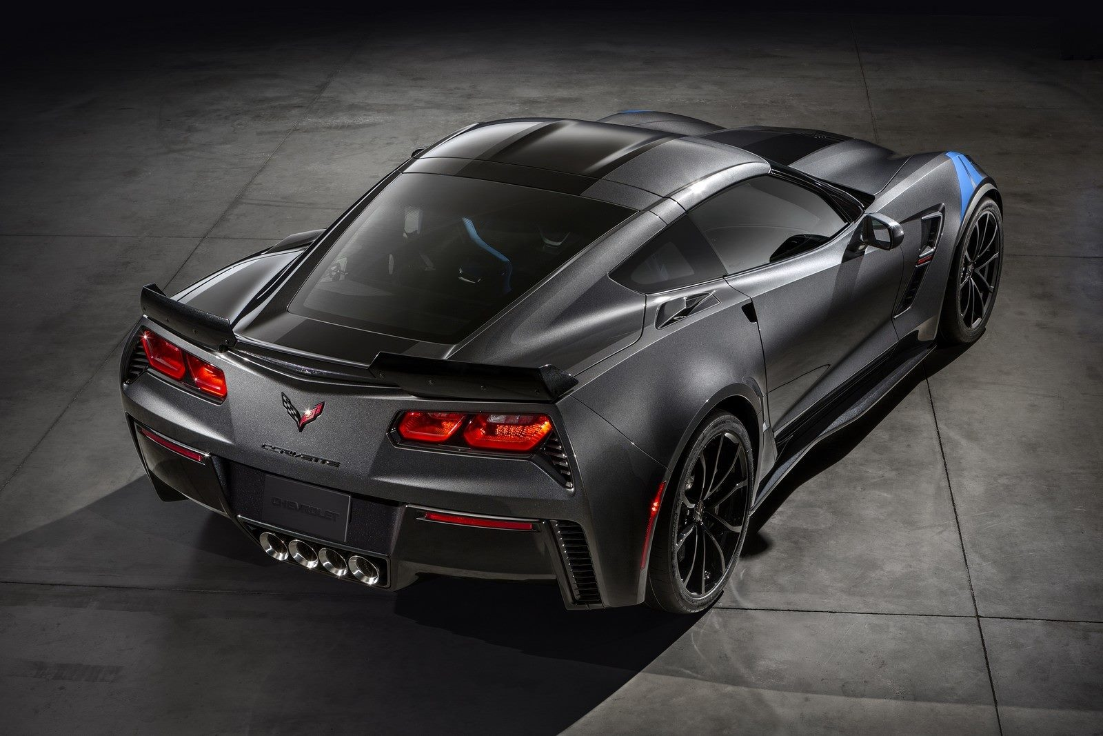 2017 Chevrolet Corvette Grand Sport Rear View