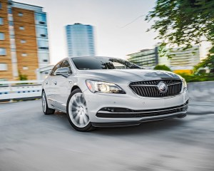 2017 Buick Lacrosse Front View