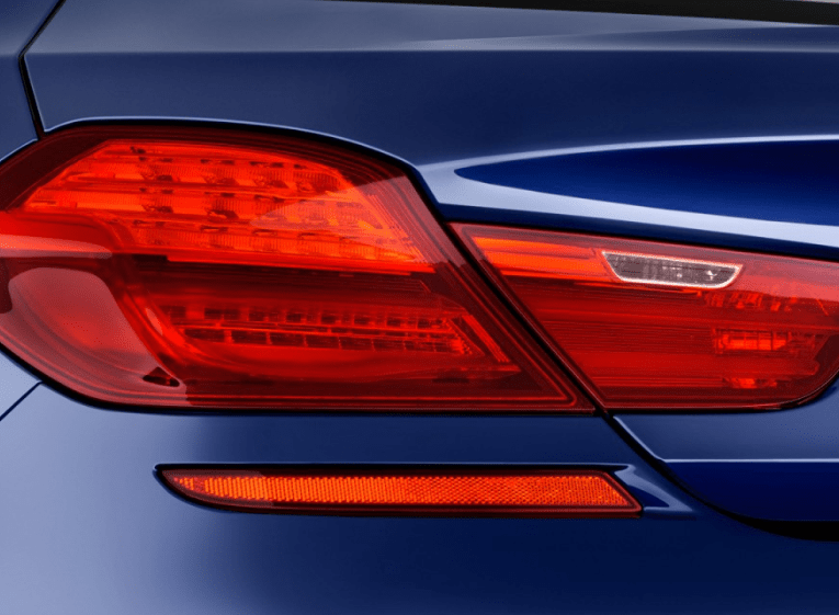 2017 BMW 6 Series Coupe Rear Lights View
