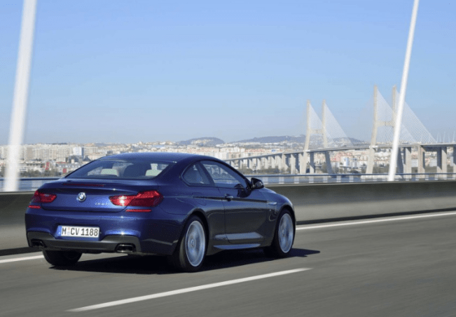 2017 bmw 6 series coupe rear
