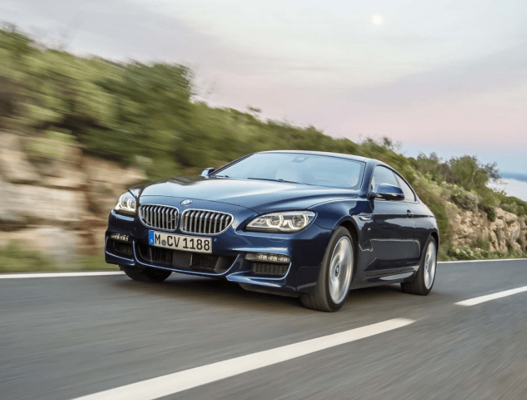2017 BMW 6 Series Coupe Front View