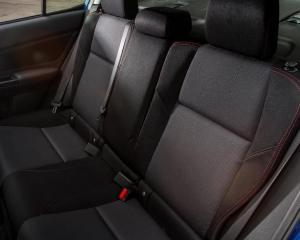 2017 Subaru WRX Seats View