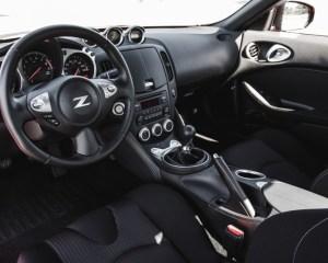 2017 Nissan 370Z Dashboard View