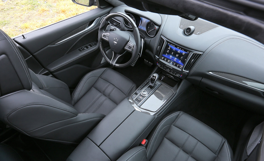 2017 Maserati Levante Interior View
