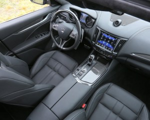 2017 Maserati Levante Interior View