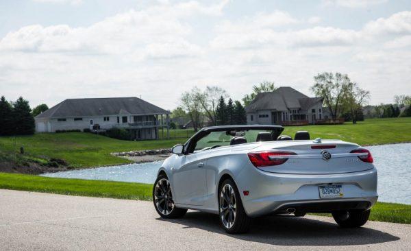 2017 Buick Cascada Back