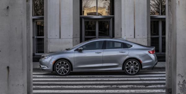 2017 Chrysler 200 Side