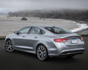 2017 Chrysler 200 Rear View