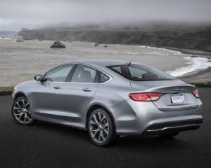 2017 Chrysler 200 Rear View