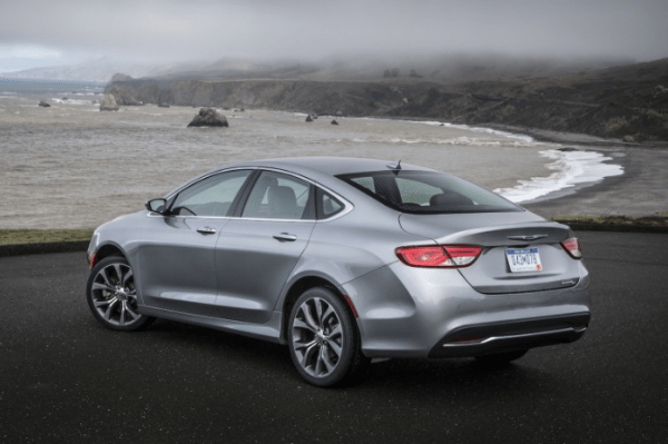 2017 Chrysler 200 back