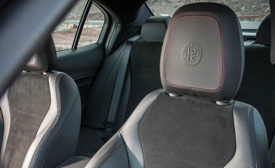 2017 Alfa Romeo Giulia Quadrifoglio Seats View