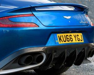 2017 Aston Martin Vanquish S Rear View