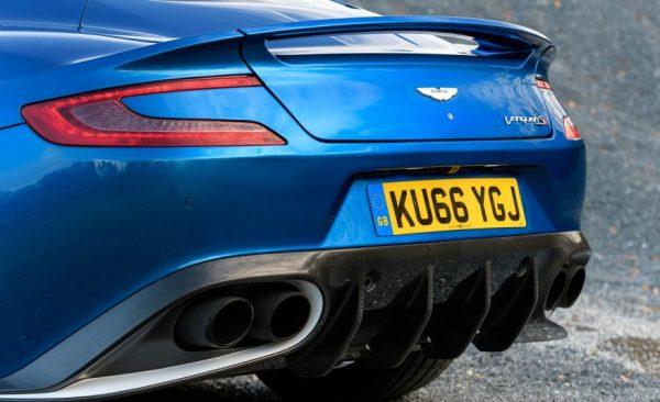 2017 Aston Martin Vanquish S Back