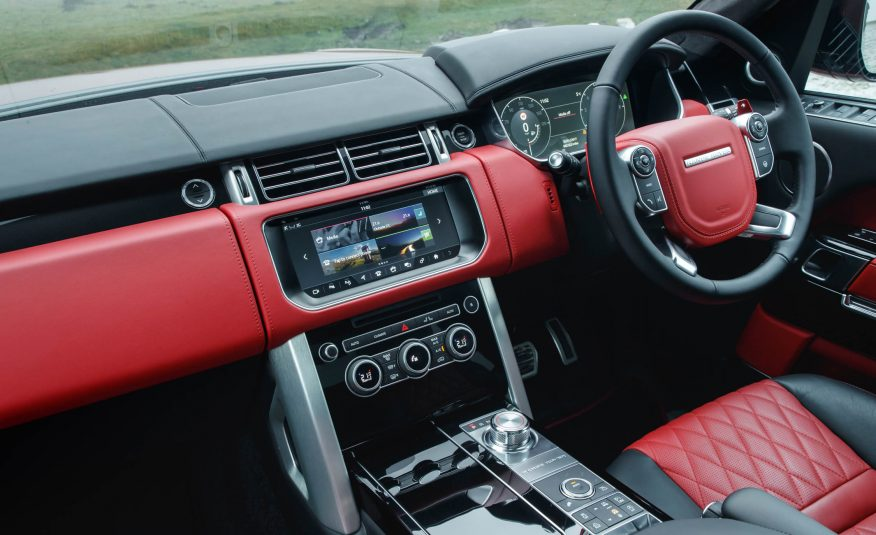 2017 Range Rover SVAutobiography review Steering View