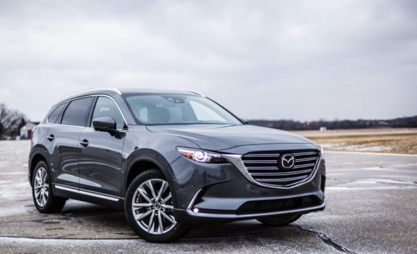 2017 Mazda CX-9 Front Review