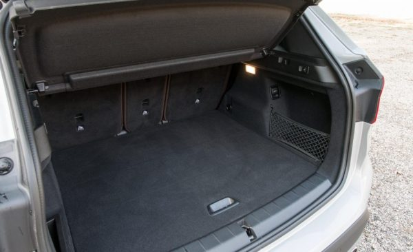 2017 BMW X1 Cargo space review