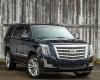 2017 Cadillac Escalade Front View