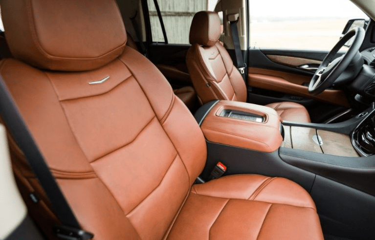 2017 Cadillac Escalade Interior Seats View