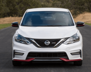 2017 Nissan Sentra Nismo Front Grille View