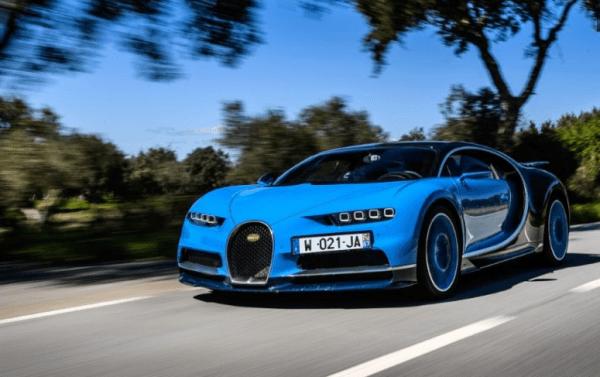 2017 Bugatti Chiron Front