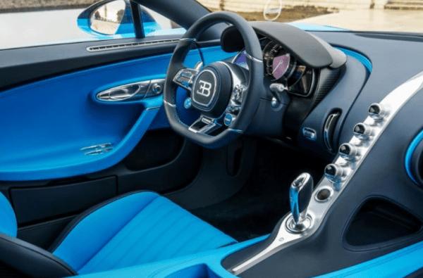 2017 Bugatti Chiron Interior