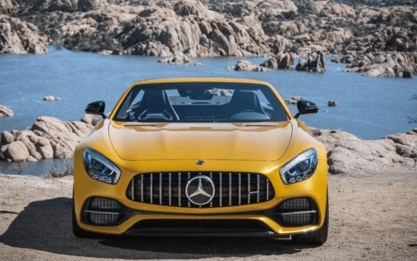 2018 Mercedes AMG GT C front