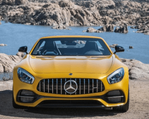 2018 Mercedes AMG GT C Front View