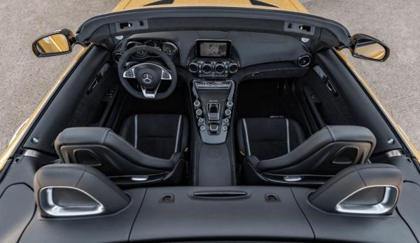 2018 Mercedes AMG GT C interior
