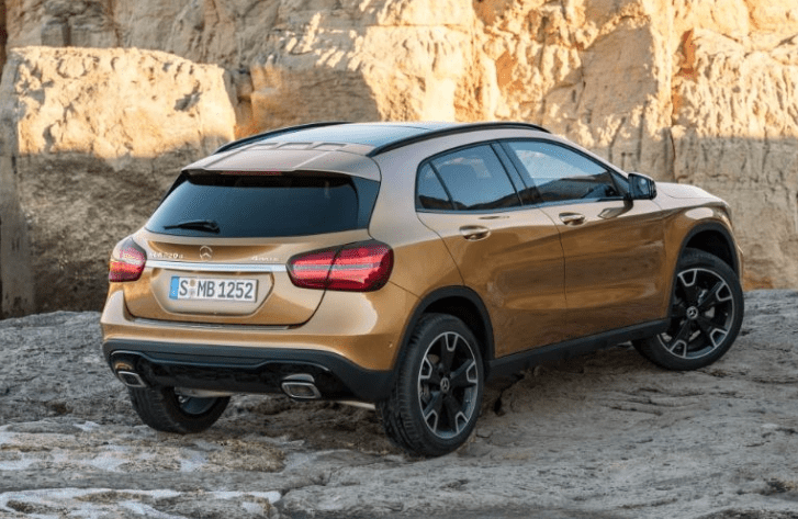 2018 Mercedes Benz GLA Class Exterior Rear View