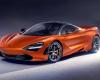 2018 McLaren 720S Front View