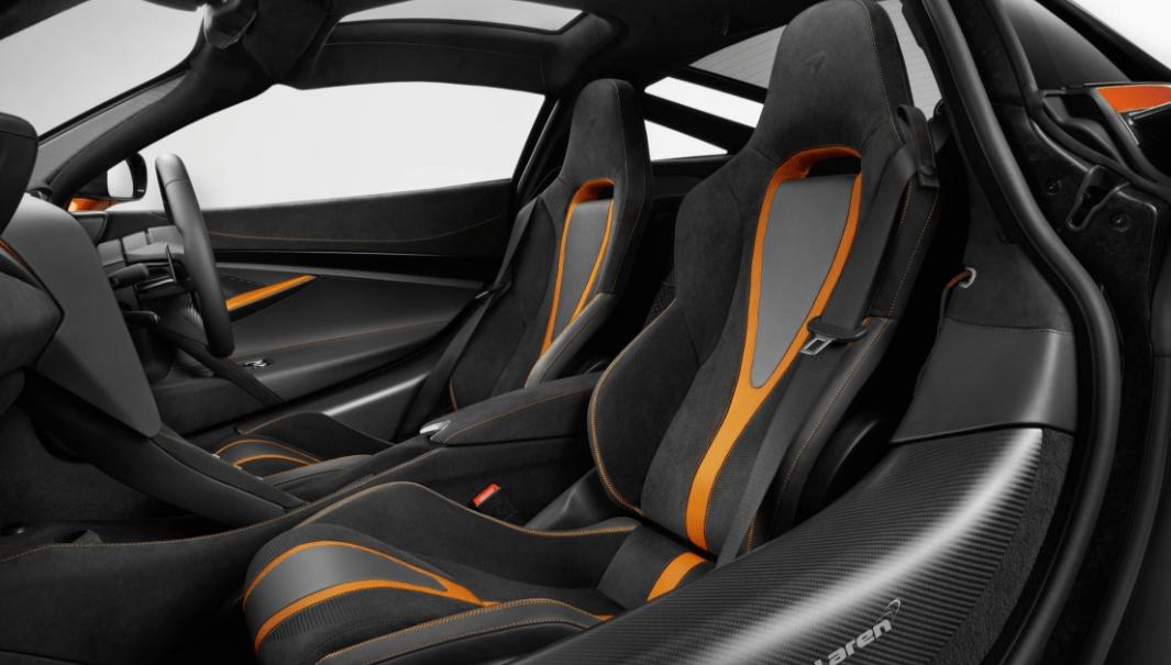 2018 McLaren 720S Interior Seats View
