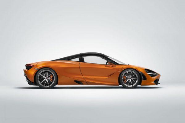 2018 McLaren 720S side review exterior