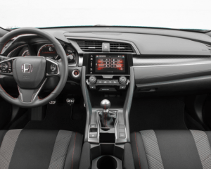 2017 Honda Civic Si Dashboard View