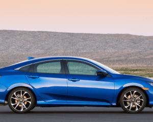 2017 Honda Civic Si Side View