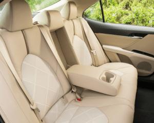 2018 Toyota Camry Interior Seats View
