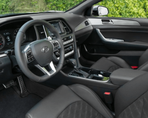 2018 Hyundai Sonata Interior Dashboard View