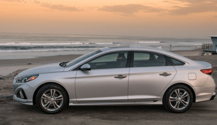 2018 Hyundai Sonata Side View