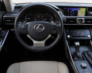 2017 Lexus IS Cockpit View