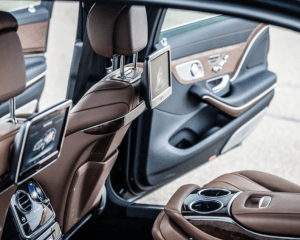 2017 Mercedes Maybach Rear Seats
