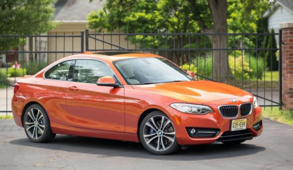 2018 BMW 2 series front review