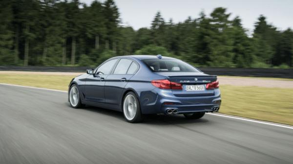 2018 BMW Alpina B5 Biturbo rear review