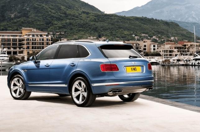 2018 Bentley Bentayga Rear View