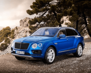 2018 Bentley Bentayga Side View