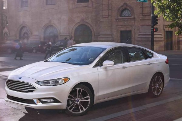 2018 Ford Fusion Exterior review