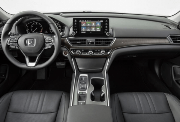 2018 Honda Accord dashboard review