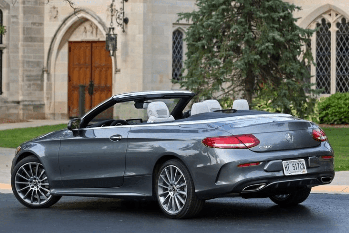 2018 Mercedes Benz Cabriolet Rear View