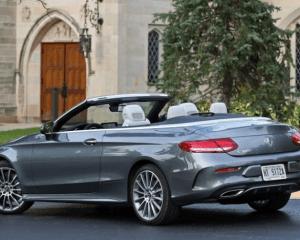 2018 Mercedes Benz Cabriolet Rear View