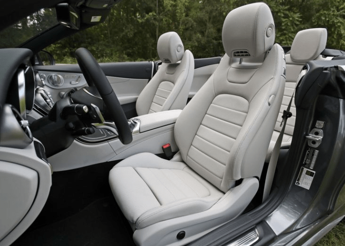 2018 Mercedes Benz Cabriolet Seats View