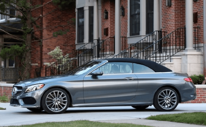 2018 Mercedes Benz Cabriolet Side View