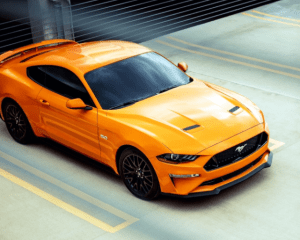 2018 Ford Mustang Above View